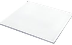 square LumiSheet LED light panel on white
