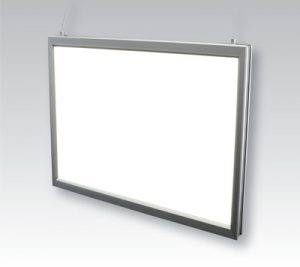 Lumi Light Box 15 Lumi Light Box #15 double-sided led light bo, hanging, hanging