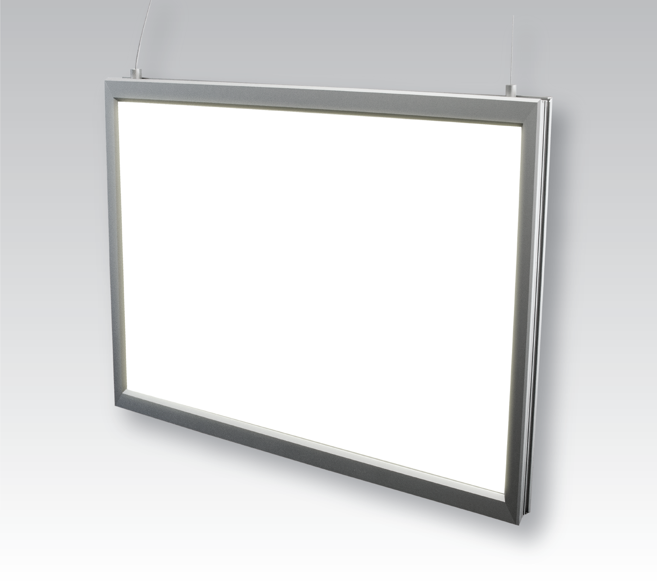 Lumi Light Box #15 double sided LED light box, hanging