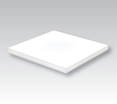 square LumiFrost LED light panel, on grey