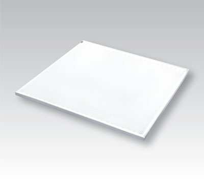 photo of square LumiSheet LED light panel