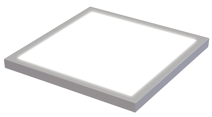 square LumiFixt LED light fixture