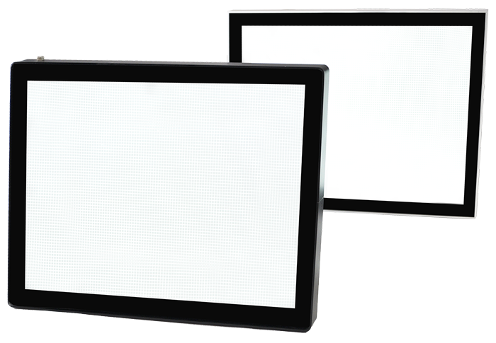 Lumi Light Box #26 magnetic light box frame options