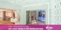 7 Key Reasons To Use LED Light Panels For Backlighting