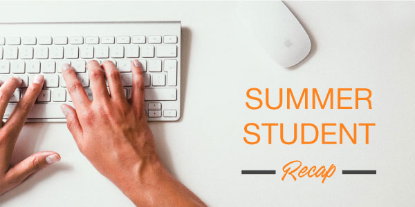 DLC LumiSheet's Summer Student Recap On Interning